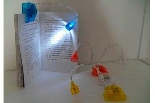 Luminária para livro 1